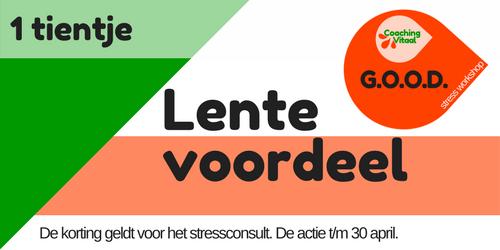 Lente voordeel bij Coaching Vitaal voor de GOOD stress workshop