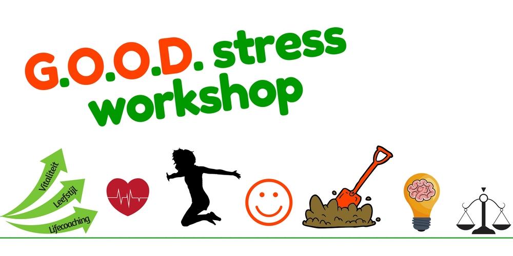 De GOOD stress workshop bij Coaching Vitaal 3