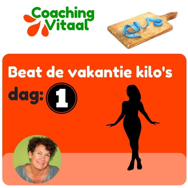 hoe krijg je de vakantie kilo's er af met Coaching Vitaal