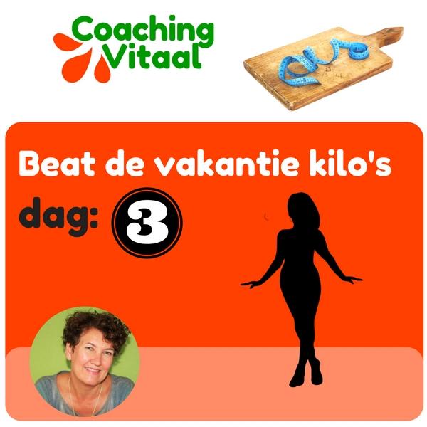 de vakantie kilo's kwijtraken met Coaching Vitaal
