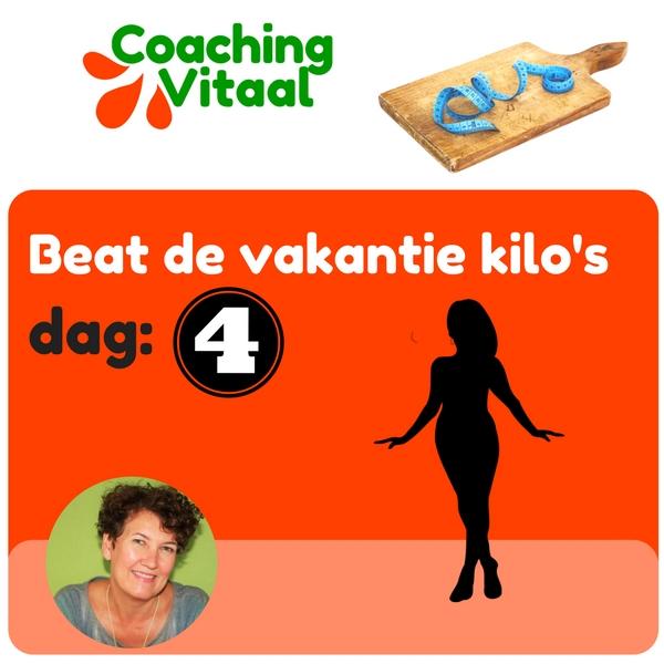 hoe raak je de vakantie kilo's weer kwijt met Coaching Vitaal