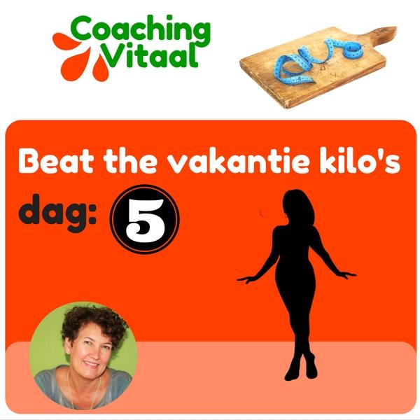 hoe raak je vakantie kilo's kwijt bij Coaching Vitaal