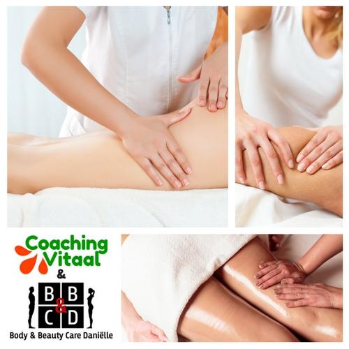 Effectieve afslankmassage bij Coaching Vitaal en Body & Beauty Care Daniëlle