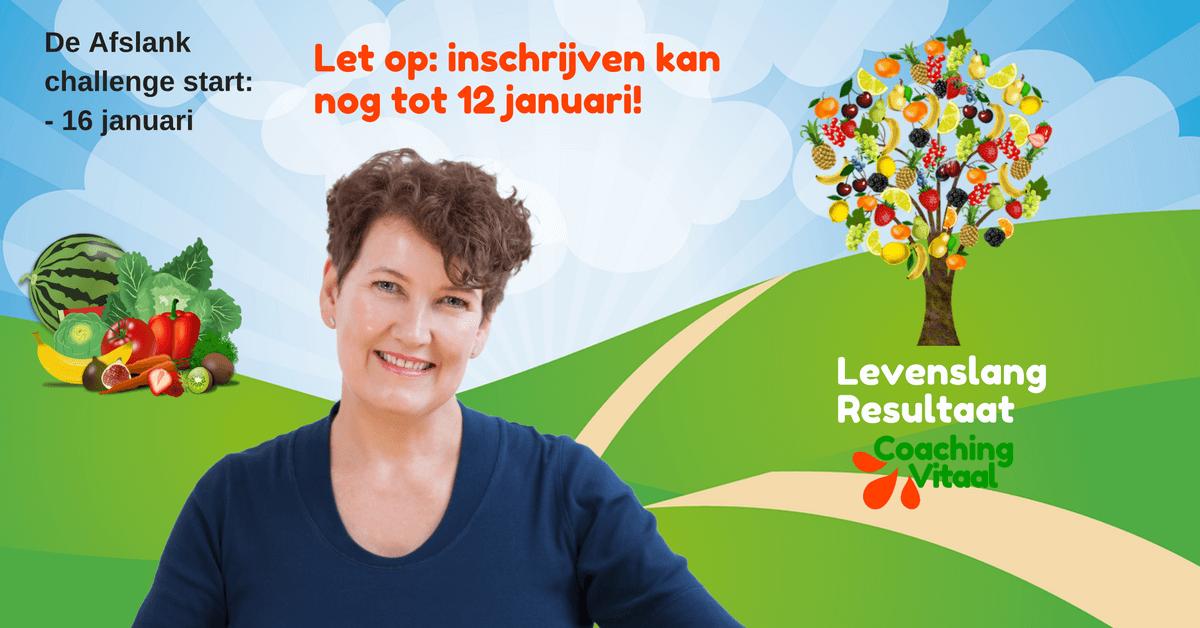 Afslank Challenge inschrijving bij Coaching Vitaal in Nieuwkoop (1)