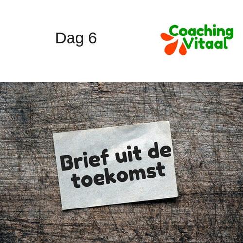 Brief uit de toekomst bij Coaching Vitaal