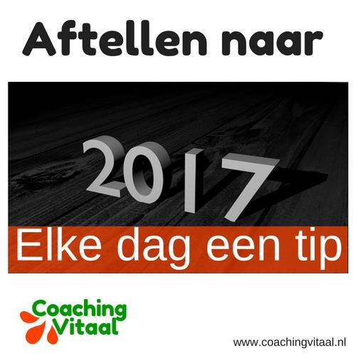 Elke dag een tip op Coaching Vitaal