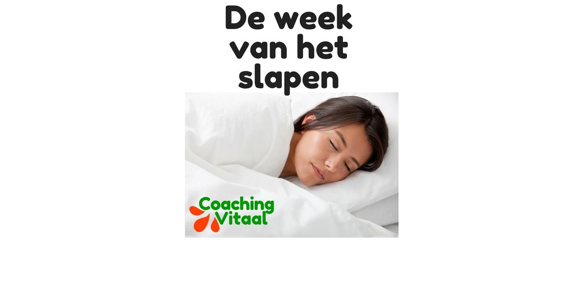 Nuttige slaaptips van Coaching Vitaal om beter te slapen