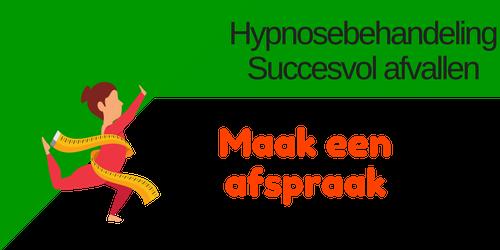 Hypnose behandeling Blijvend Afvallen
