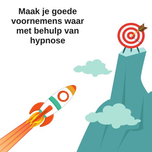 goede voornemens waarmaken met hypnose bij Coaching Vitaal in Nieuwkoop