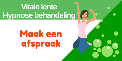 Afspraak maken Vitale lente hypnose arrangement bij Coaching Vitaal in Nieuwkoop Zuid-Holland