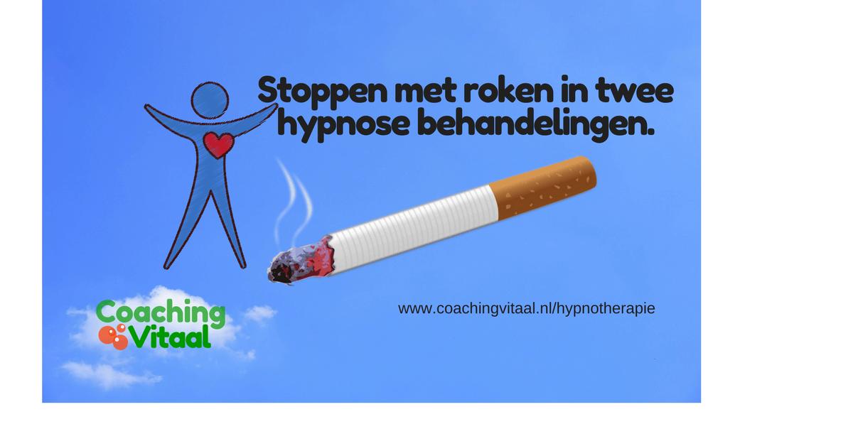 stoppen met roken in twee behandelingen in Nieuwkoop