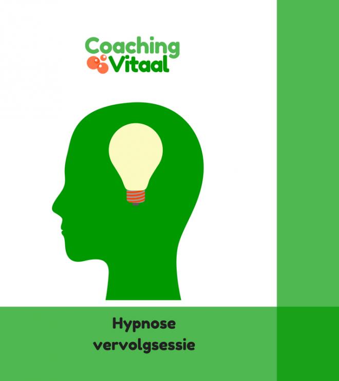 Hypnose vervolgsessie Coaching Vitaal