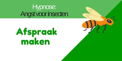 afspraak maken hypnose tegen insecten angst in Nieuwkoop