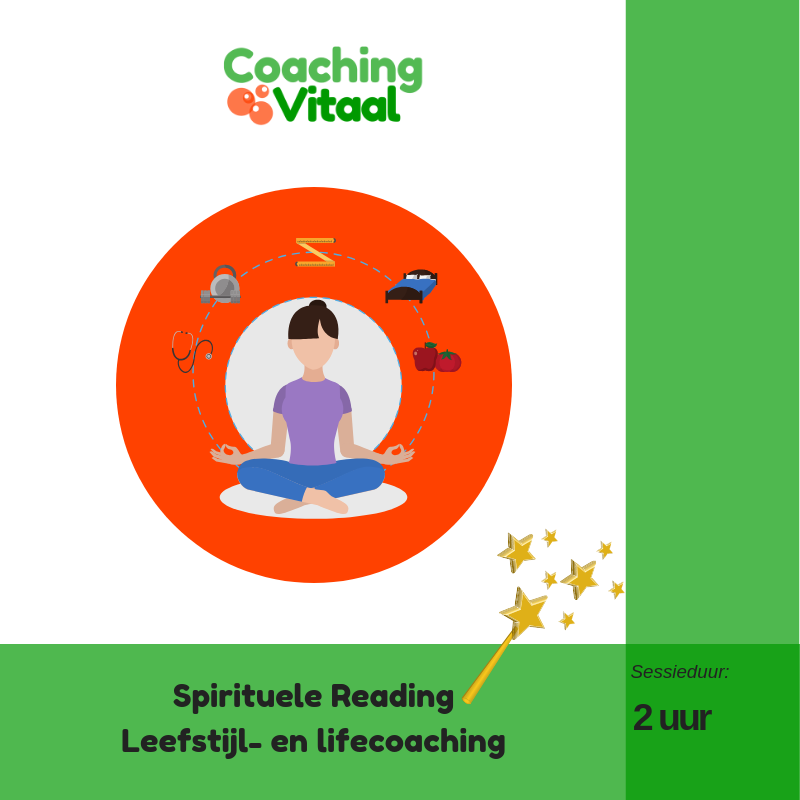 Spirituele reading slapen, voeding, beweging, emoties en stress