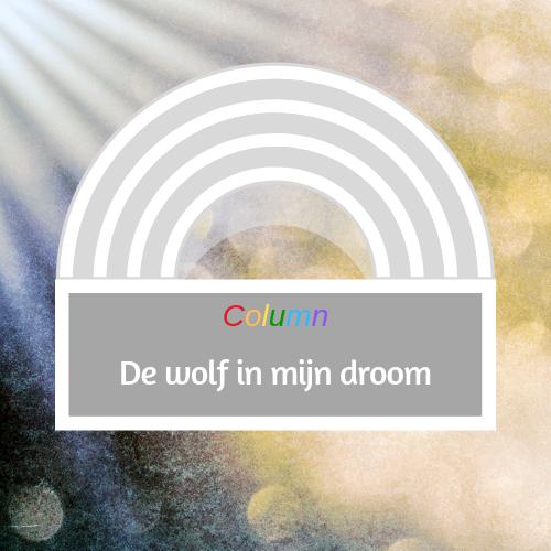 Een droom over een wolf