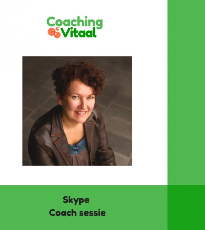 Een coach of hypnotherapie sessie via Skype bij Coaching Vitaal